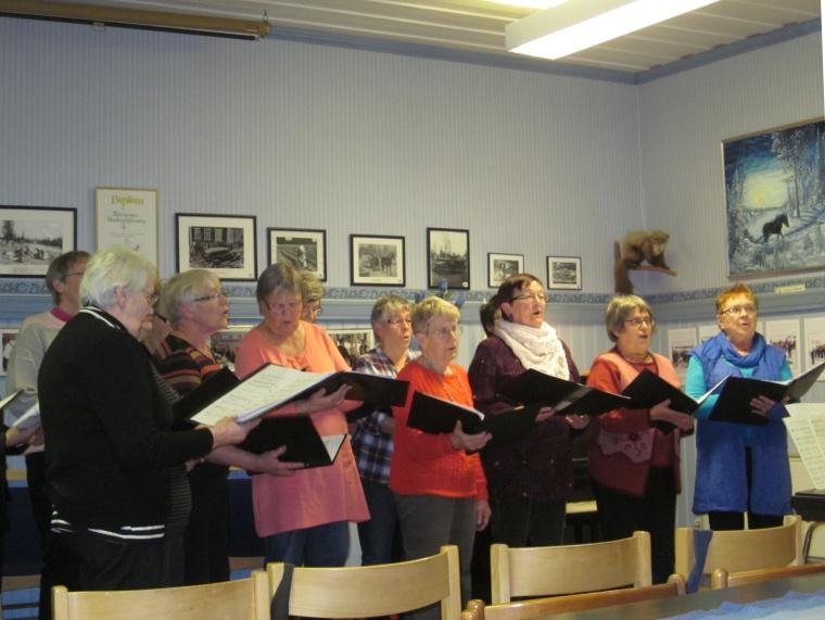 svenska kyrkan med kör nattavaara